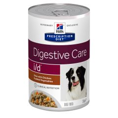 Hills Prescription Diet i/d Digestive Care Chicken Stew Dog Food 12x354g Can