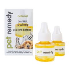 Pet Remedy De-Stress Diffuser Refills 2x40ml