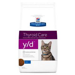 Hills Prescription Diet y/d Thyroid Care Cat Food Dry Original