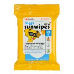 Petkin Doggy Sun Wipes SPF15