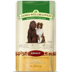 James Wellbeloved Adult Dog Food Wet Pouches