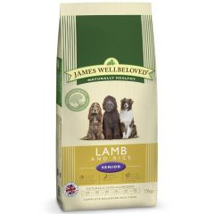 James Wellbeloved Senior Dog with Lamb & Rice Dry