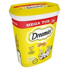 Dreamies Cheese Cat Treats Tub 350g