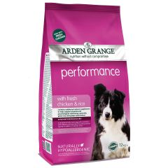 Arden Grange Performance Adult Dog with Chicken & Rice Dry