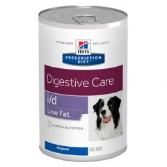 Hills Prescription Diet i/d Digestive Care Low Fat Original Wet Dog Food 12x360g Can