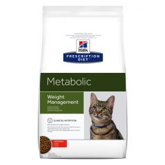 Hills Prescription Diet Metabolic - Weight Management Cat Food Dry with Chicken