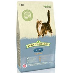 James Wellbeloved Light Adult Cat with Turkey Dry