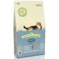 James Wellbeloved Adult Housecat with Duck Dry