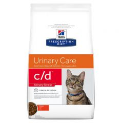 Hills Prescription Diet c/d Urinary Care - Urinary Stress Cat Food Dry with Chicken