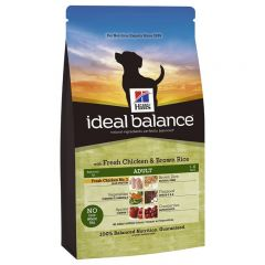Hills Ideal Balance Canine Adult with Chicken & Brown Rice Dry