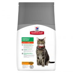 Hills Science Plan Adult Cat Perfect Weight with Chicken Dry
