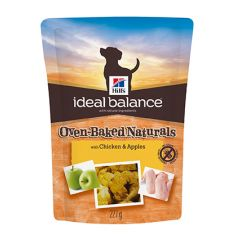 Hills Ideal Balance Oven-Baked Naturals Dog Treats with Chicken & Apples 6x227g
