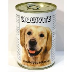 Liquivite Liquid Dog Food 395g Can