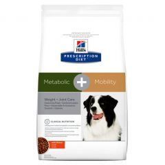 Hills Prescription Diet Metabolic + Mobility - Weight and Joint Care Dog Food Dry