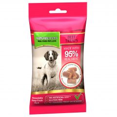 Natures Menu Real Meaty Dog Treats 60g