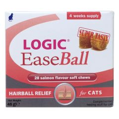 Logic EaseBall Chews for Cats - Pack of 28