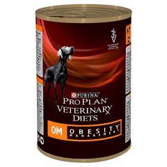Purina Pro Plan Veterinary Diets Dog OM (Obesity Management) Wet 12x400g Can