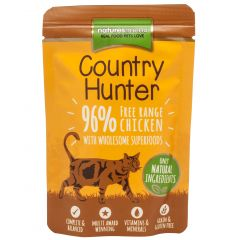 Natures Menu Country Hunter Free Range Chicken Cat Food 6x85g Pouches