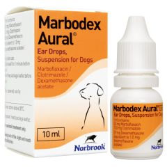 Marbodex Aural Ear Drops Suspension for Dogs