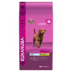 Eukanuba Adult Weight Control Large Breed Dog with Chicken Dry 12kg