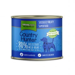 Natures Menu Country Hunter Wild Boar Dog Food 6x600g Cans