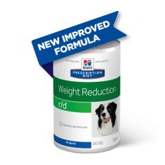 Hills Prescription Diet r/d Weight Reduction Dog Food Wet Original 12x350g Can