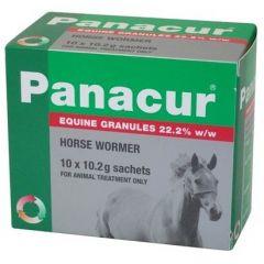 Panacur Equine Granules 22% 10x10g Sachets