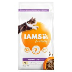 IAMS for Vitality Kitten Food with Fresh Chicken Dry