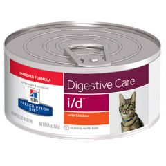 Hills Prescription Diet i/d Digestive Care Cat Food with Chicken Wet