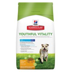 Hills Science Plan Youthful Vitality Adult 7+ Mini with Chicken & Rice Dry
