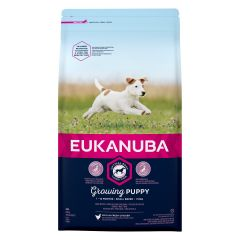 Eukanuba Growing Puppy Small Breed with Chicken Dry 2kg