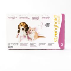 Stronghold Spot-On for Puppy & Kitten 15mg (Up to 2.5kg)
