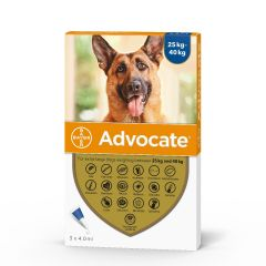 Advocate 400 Spot-On for Extra Large Dogs (weighing 25-40kg)