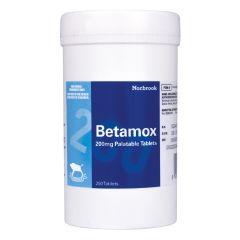 Betamox 200mg Palatable Tablet