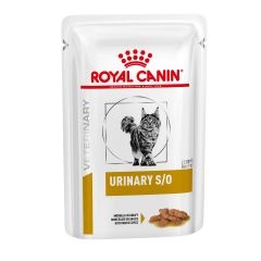 Royal Canin Urinary S/O Adult Cat Food Wet Morsels in Gravy 48x85g Pouch