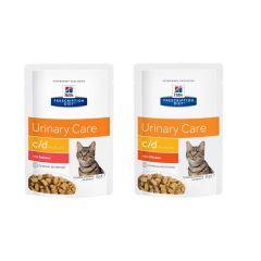 Hills Prescription Diet c/d Urinary Care - Multicare Cat Food Wet 12x85g Pouch