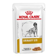Royal Canin Urinary S/O Adult Dog Foog Thin Slices in Gravy Wet 48x100g Pouch