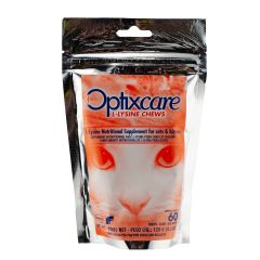 Optixcare L-Lysine Chews for Cats - Pack of 60