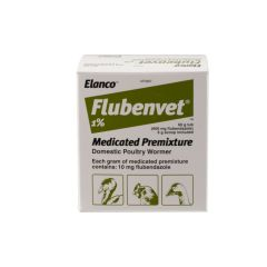 Flubenvet 1% Medicated Premixture - Domestic Poultry Wormer