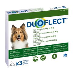 Duoflect Spot-on Solution for Dogs Weighing 20-40kg