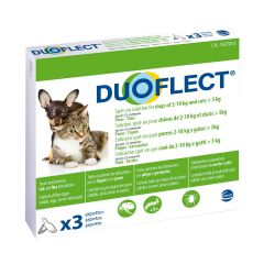 Duoflect Spot-on Solution for Dogs 2-10 kg and Cats > 5kg