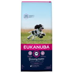Eukanuba Growing Puppy Medium Breed with Chicken Dry