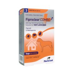 Fiproclear Combo Spot On Solution for  Dogs