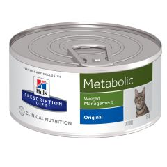 Hills Prescription Diet Metabolic - Weight Management Cat Food Wet 24x156g Can