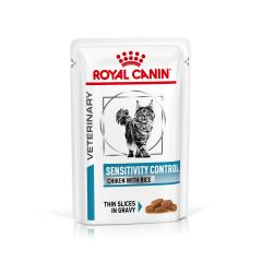 Royal Canin Veterinary Diet Feline Sensitivity Control Wet 48x85g Pouch