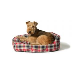 Danish Design Deluxe Slumber Bed Lumberjack Red/Grey