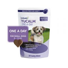 YuCalm One-A-Day Chewies for Small Dogs - Pack of 30