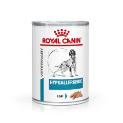 Royal Canin Veterinary Diet Hypoallergenic Dog Food Wet 12x400g Can