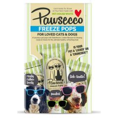 Woof & Brew Pawsecco Freeze Pops- Pack of 6
