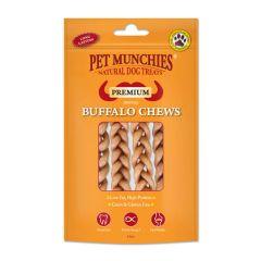 Pet Munchies Buffalo Dental Chews (small) 55g